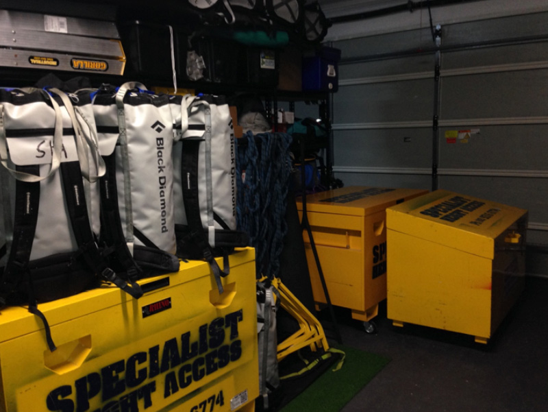 Specialised Rope Access Solutions Storeroom