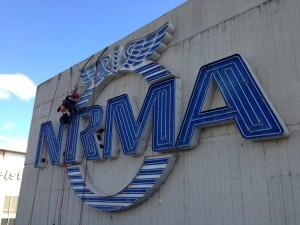 NRMA sign repair