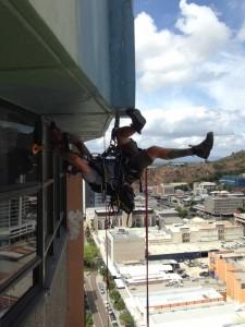 Repairing Building Exterior
